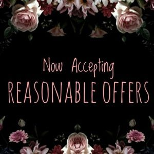 🍂Acceping Reasonable Offers🍂
